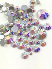 Assorted Sizes AB Crystal Glass Rhinestone No-Hotfix Decoration AVANT CRYSTAL