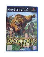 Cabela's Dangerous Hunts ( PlayStation 2 PS2 ) ( PAL ) Complete ** VERY GOOD **