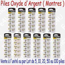 Piles SR Oxyde d'argent 1,55V pour Montre : G0 G1 G2 G3 G4 G6 G7 G10 G11 G12 G13