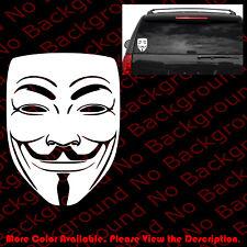We Are Anonymous Die Cut Vinyl Window Decal Sticker Hacker Group Internet FY044