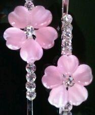 Beautiful Sparkling OPAL HAIR PINS w/crystal Bobby pins, Hair Clips