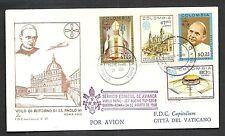1968 VATICANO CAPITOLIUM VOLO SPECIALE COLOMBIA VATICANO 24.8.68 - BV004