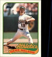 1989 Topps Baseball Base Singles #581-706