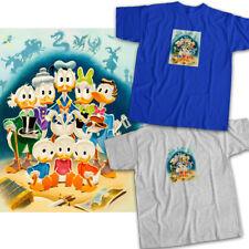 DuckTales Daisy Donald Duck Huey Dewey Louie Family Portrait Unisex Tee T-Shirt