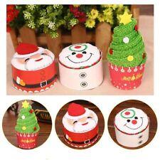 Gifts Cartoon Christmas Towel Santa Claus CAKE Modeling Snowman