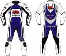 Suzuki GSXR Motorbike Suits Leather Biker Racing Armour Motorcycle Jackets Pants