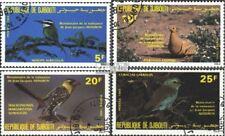 Dschibuti 429-432 (kompl.Ausg.) gestempelt 1985 Vögel EUR 5