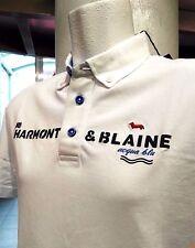 "HARMONT&BLAINE,Poloshirt,Bianca,Nuova 2016,Button-down, Collo ""STAND UP ""."