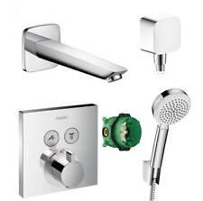 Hansgrohe ShowerSelect Thermostat Unterputz Badewannenarmatur mit Wanneneinlauf