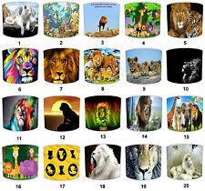 abat-jour idéal correspond à Lion coussins Art Mural couettes Papier peint