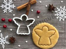 Angel Cookie Cutter 02 | Christmas | Fondant Cake Decorating | UK Seller