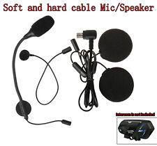Headsets Earphone Mic Speaker Clip Bracket For M1-S Pro BT Intercom Fodsports