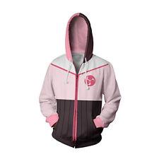 Anime RWBY Pink Hoodies Sweatshirt Coat Cosplay Costume Unisex Adult Hooded
