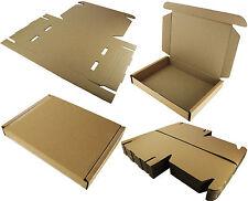 "STRONG CARDBOARD BOX LAPTOP SHIPPING PACKET MEDIUM PARCEL 50x36x7cm 19.5""x14""x3"""