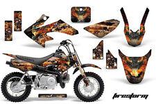 AMR RACING GRAPHIC STICKER DECAL MOTO DIRTBIKE HONDA CRF50 CRF 50 FIRESTORM BLK
