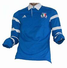 Italia italia rugby F.I.R. polo camisa polo camisa adidas maillot camiseta maglia