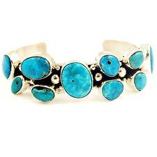 Turquoise Cuff Bracelet by BOBBY JOHNSON