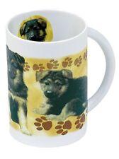 Tasse Keramikbecher Kaffeetasse ©Kollektion Boetzel Schaeferhund Welpen 57165