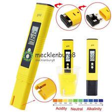 Digital PH Meter Tester Aquarium Pool LCD Pen Monitor TDS EC Water Meter Tester