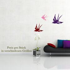 Wandtattoo Vogel Bird Schwalbe Spatz Tattoo sweet +120+