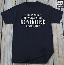 Boyfriend T-shirt Valentines Day Birthday Christmas Thanksgiving Gift For BF