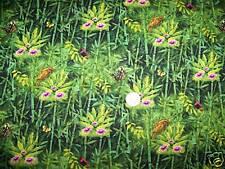 Tropical Jungle Safari Friends Cotton Fabric Birds & Butterflies Spectrix Fabric