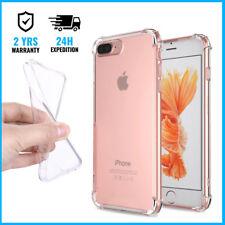 Transparent Gel Clear Bumper Case Cover Etui Coque For iPhone 6 6S 7 8 Plus X