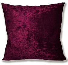 Mv31a Wine Red Diamond Crushed Velvet Cushion Cover/Pillow Case Custom Size