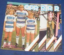 Queens Park Rangers Home programmi 1984-1985