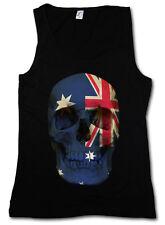 Classic Australia Skull Flag donna Tank Top Bandiera Banner Bandiera Australia