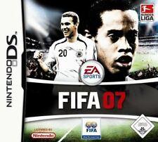 Nintendo DS 3ds fifa 07 futbol 2007 alemán como nuevo