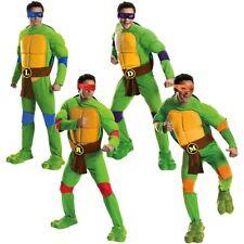 Teenage Mutant  Ninja Turtle Costume Adult TMNT Halloween Fancy Dress