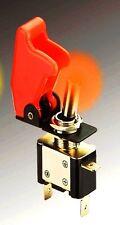 INTERRUPTEUR AVIATION A CAPOT + LED! SUPERBE QUALITE  ET LOOK! MATERIEL DE PRO