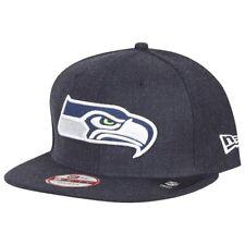 NEW Era Snapback Cap-NFL SEATTLE SEAHAWKS Heather Navy