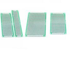 Double Side Prototype PCB Bread board Tinned Universal FR4 2x8cm - 9x15cm
