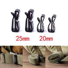 20/25MM Molle buckle strap Belt end clip adjust keeper tactical backpack Camp TB