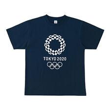 Tokyo 2020 Olympic official emblem T-shirt Navy unisex F/S Japan