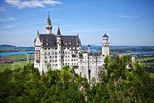 Schloss Neuschwanstein Fotoleinwand Poster Alu Dibond Forex Acrylglas Wandbild