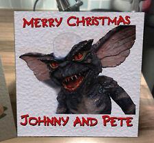 Gremlins Personalised Christmas Card