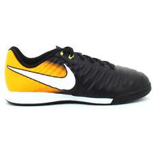 Nike - JR TiempoX Ligera 4 IC - Scarpe Calcetto Junior- Blck/Orange - 897730 008