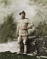 Colonel Theodore Roosevelt President Rough Rider Cowboy Bull Moose Big Stick