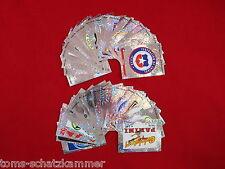 PANINI WM 2010 tutti 40 Glitter Sticker inclusa ogni 32 STEMMA COMPLETO WC 10