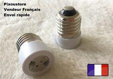 Adaptateur douille E27 mâle - MR16  femelle pour ampoule culot neuf 8-31