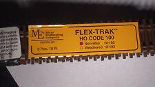 Micro- Engineering 10-102 Flex Track HO Code 100 NON WEATHERED BIGDISCOUNTTRAINS