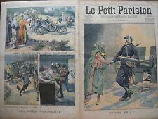 PETIT PARISIEN 1907 N 986 UNE AMITIE FRACO ALGERIENNE