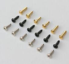 6 x Jack Plate Control Plate Input Socket Screws SC2