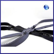 60cm a 85cm Twin deslizadores x Espiral Espiral cremalleras ❋ Tipo X Nailon Abierta Cremalleras