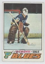 1977-78 Topps #54 Ed Staniowski St. Louis Blues Hockey Card