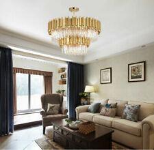 Modern minimalist K9 Crystal Chandelier Ceiling living room Bedroom Lighting