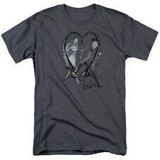 Tim Burton Corpse Bride Movie Runaway Groom Licensed Adult T Shirt